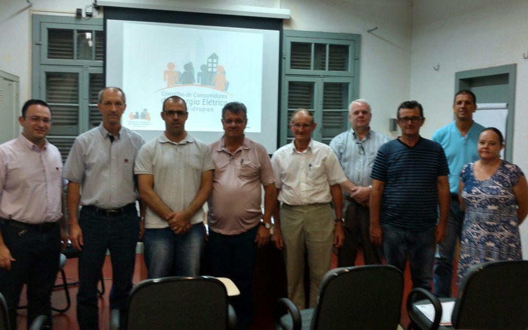 Empossados os novos membros do Conselho de Consumidores de Energia Elétrica da Hidropan